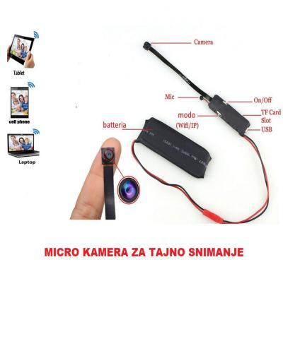 Video nadzor- Micro skrivena kamera