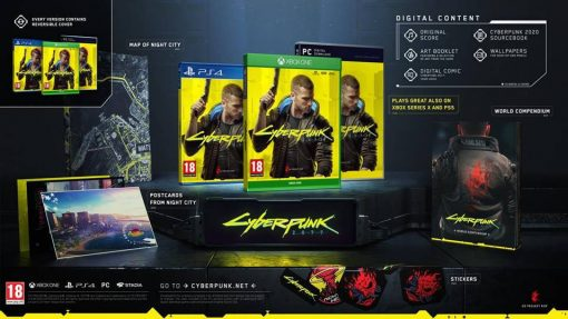 PS4 Cyberpunk reversible cover