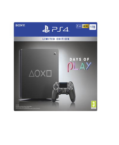 PS4 Days Of Play 1tb