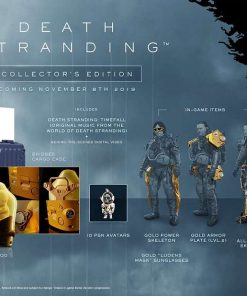 PS4 Death Stranding Collectors Edition