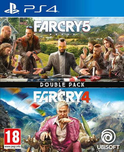 PS4 Far Cry 4 + Far Cry 5