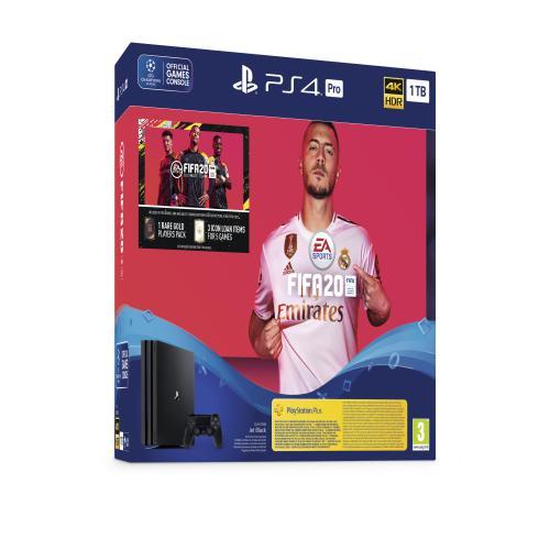 PS4 PRO+FIFA20+dodatni Joypad