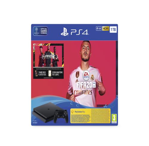 PS4 Slim 1 TB + FIFA 20 Bundle