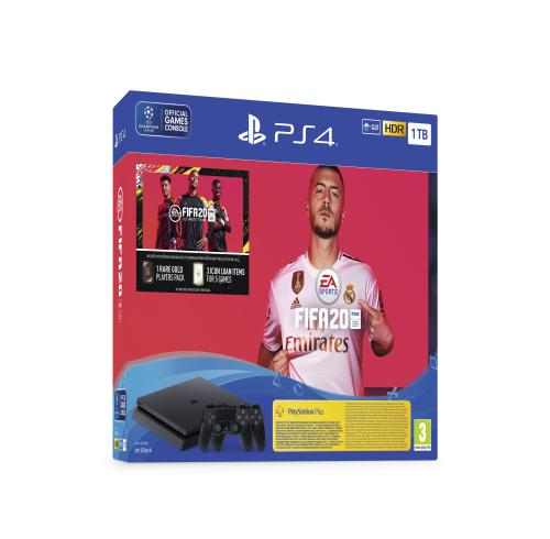 PS4 Slim+FIFA20+dodatni Joypad