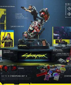 PS4 Cyberpunk Collector's Edition