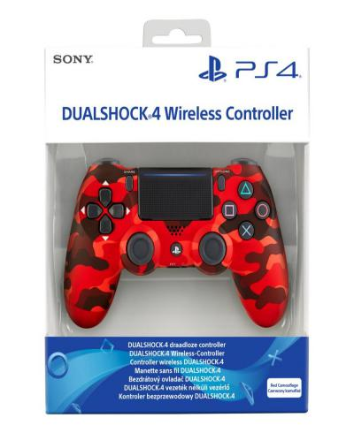 Dualshock Controller V2 Red Camouflage