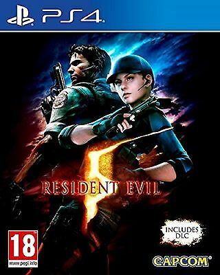 PS4 Resident Evil 5 + all DLC pack