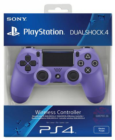 PS4 Sony Dualshock Controller V2 Electric Purple