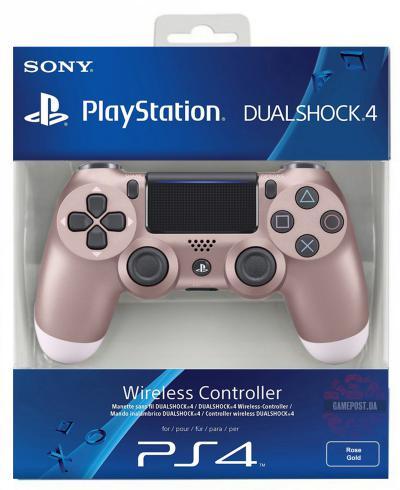PS4 Sony Dualshock Controller V2 Rose Gold