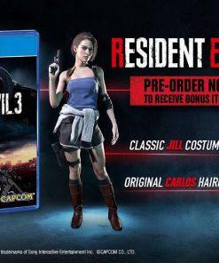 Resident Evil 3 pre order