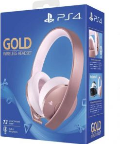 PS4 Sony Wireless Stereo Headset 2.0 Rose Gold