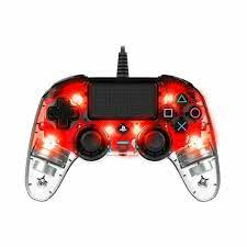 PS4 Nacon Big Ben Compact Light Wired Red Controller
