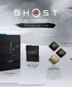 PS4 Ghost of Tsushima Special Edt