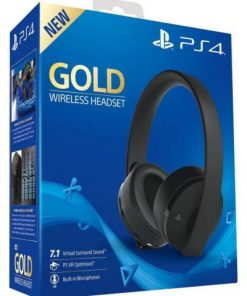 sony-gold-wireless-headset-bezicne-sony-ps4-ps4-