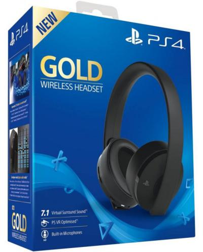 sony-gold-wireless-headset-bezicne-sony-ps4-ps4-