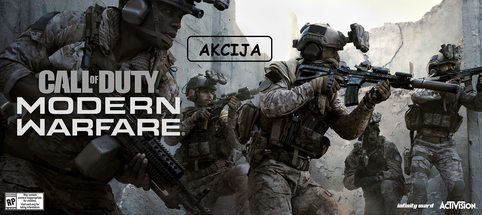 Call Of Duty Modern Warfare akcija