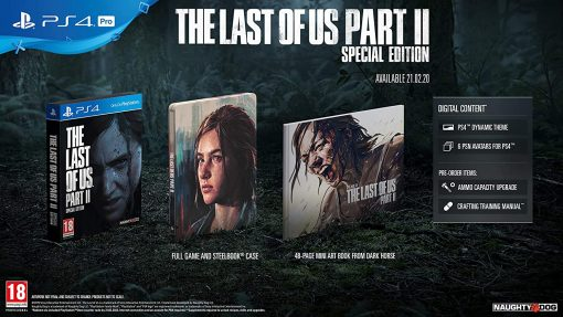 PS4 The Last Of Us Part 2 Special Edt