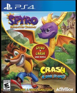 Crash Bandicoot N.Sane Trilogy + Spyro Reignited Trilogy