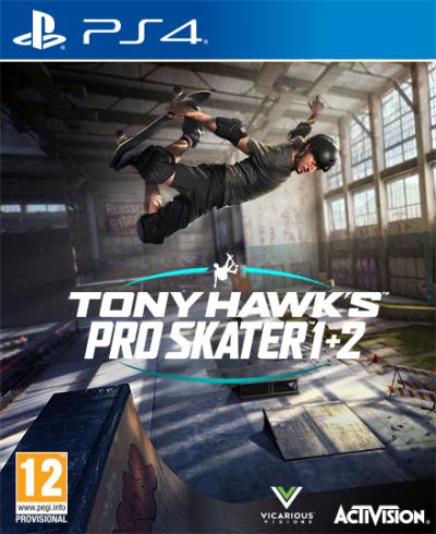 PS4 Tony Hawk's Pro Skater 1 + 2 Collector's Edition