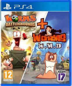 PS4 Worms Battleground + Worms WMD