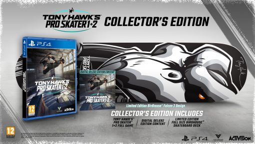 Tony Hawk's Pro Skater 1 + 2 Collector's Edition