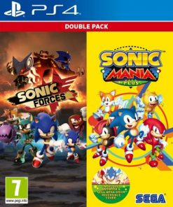 PS4 Sonic Mania Plus and Sonic Forces Double Pack