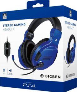 PS4 Gaming Slušalice BigBen Plave