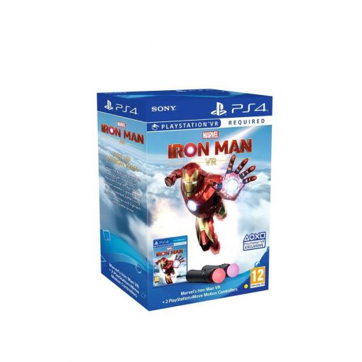 PS4 Marvel's Iron Man VR/PS Move Twin Pack bundle