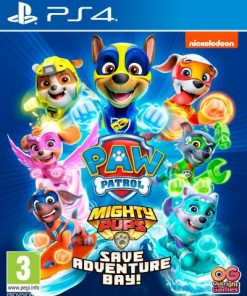 PS4 Paw Patrol Mighty Pups Save Adventure Bay