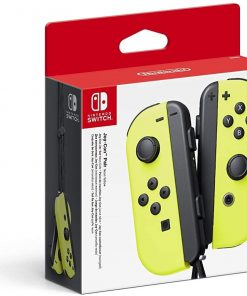Nintendo Switch Joy Con Controller Neon Yellow
