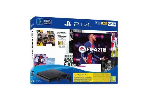 PS4 500 gb + FIFA21 Bundle