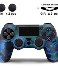 PS4 Silikonska zaštita Camo Plava
