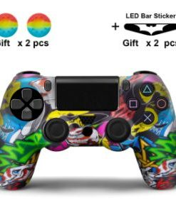 PS4 Silikonska zaštita Šarena 2