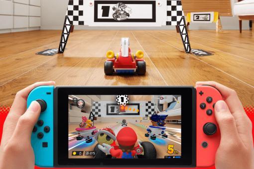 Nintendo Switch Mario Kart Live Home Circuit Luigi Set Pack 2 ok