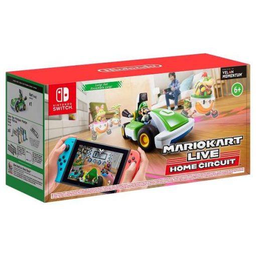 Nintendo Switch Mario Kart Live Home Circuit Luigi Set Pack