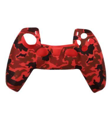 PS5 Silikonska zaštita Dualsense Red Camo