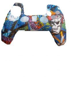 PS5 Silikonska zaštita Dualsense Scull Funny