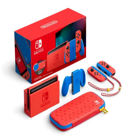 Nintendo Switch Konzola Mario Red & Blue (Special Edition)