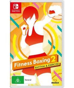 Nintendo Switch Fitness Boxing 2 Rhythm Exercise