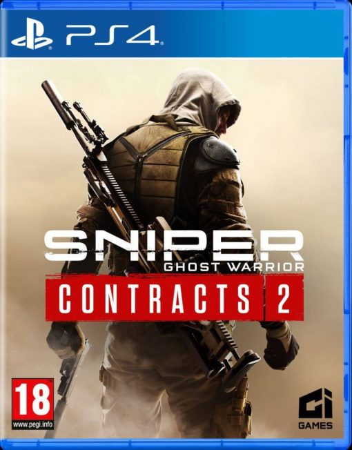 PS4 Sniper Ghost Warrior Contracts 2