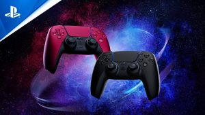 PS5 Dualsense Wireless Controller Cosmic Red and Black