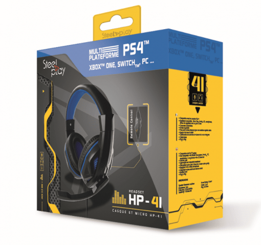 Steelplay HP41 Wired Headset slušalice (PS4)
