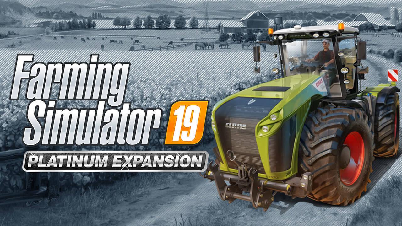 ps4 farming simulator 19 platinum edition igra