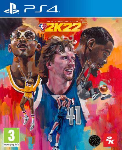 PS4 NBA 2K22 75th Anniversary Edition