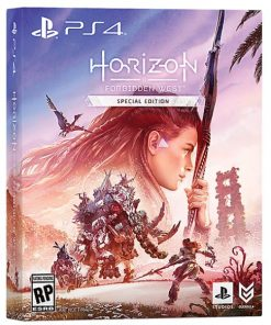 PS4 Horizon Forbidden West special edition cover